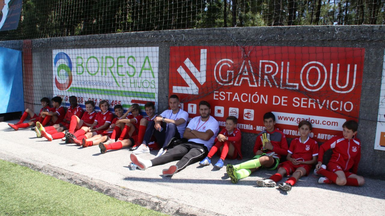 DECIMO TERCER TORNEO FUTBOL BASE ABANQUEIRO SD EN EL CAMPO DE VISTA ALEGRE