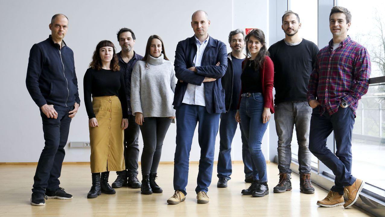 El equipo de investigación está liderado por José Manuel Tubío (en el centro de la imagen)