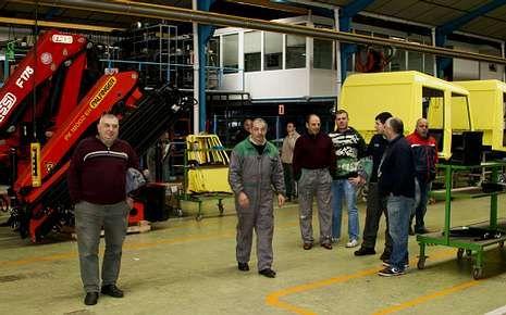 El cierre de la fábrica de IPV de A Pontenova, a finales del 2012.
