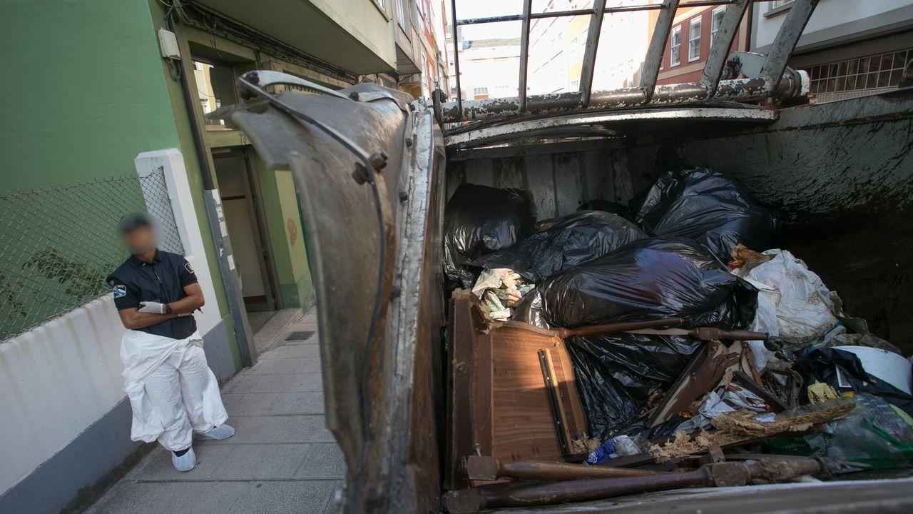 La vivienda de los padres detenidos en Lugo acumulaba gran cantidad de basura.El tren laboratorio Séneca, en el recorrido de alta velocidad entre Olmedo (Valladolid) y Zamora, en las proximidades de Toro
