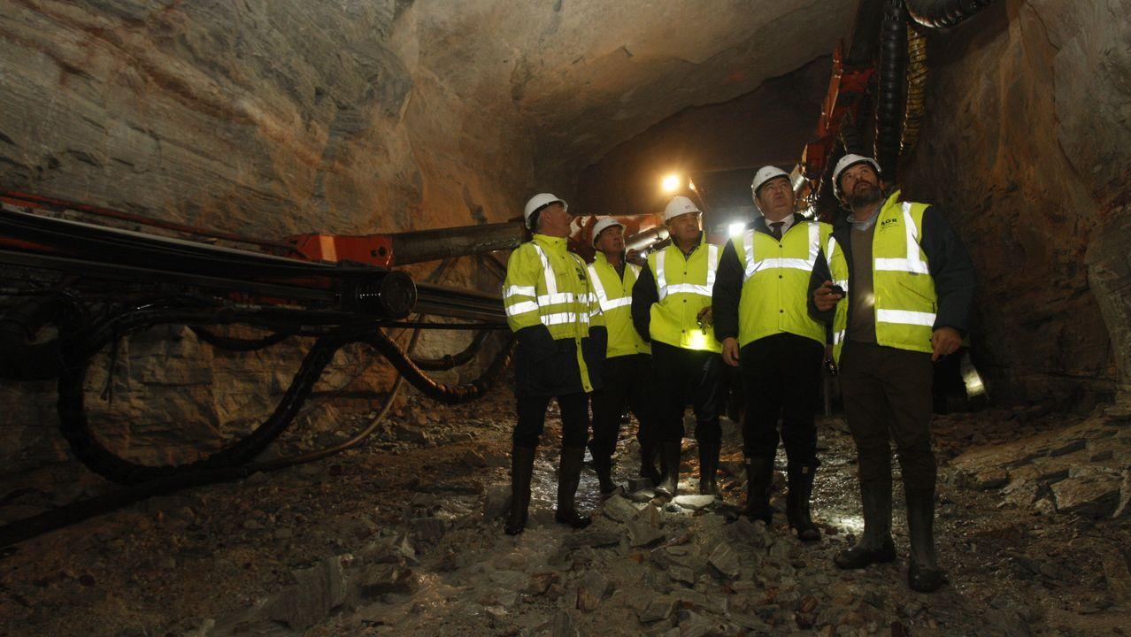 La mina de la que sale toda la magnesita gallega