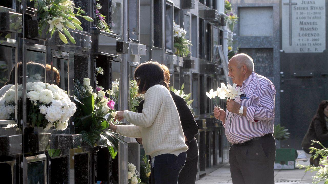 Los barbanzanos ponen a punto los cementerios de la comarca
