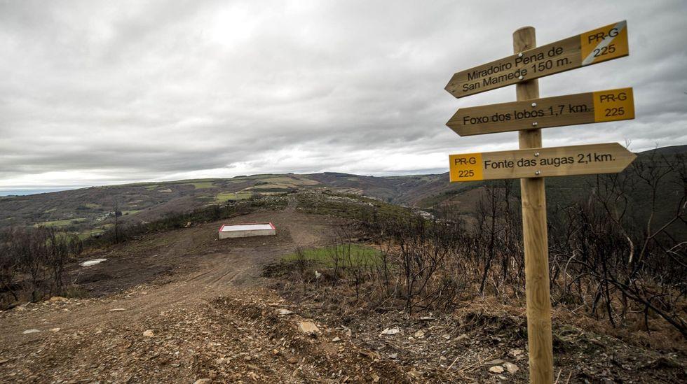 La Ruta do Ferro discurre por parajes de interés geológico en O Incio