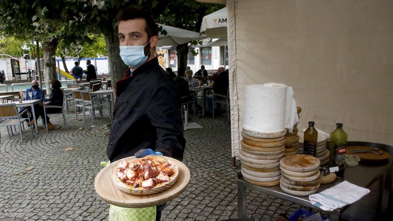 La pulpería A Fonsagrada tiene su puesto en Campo Castelo