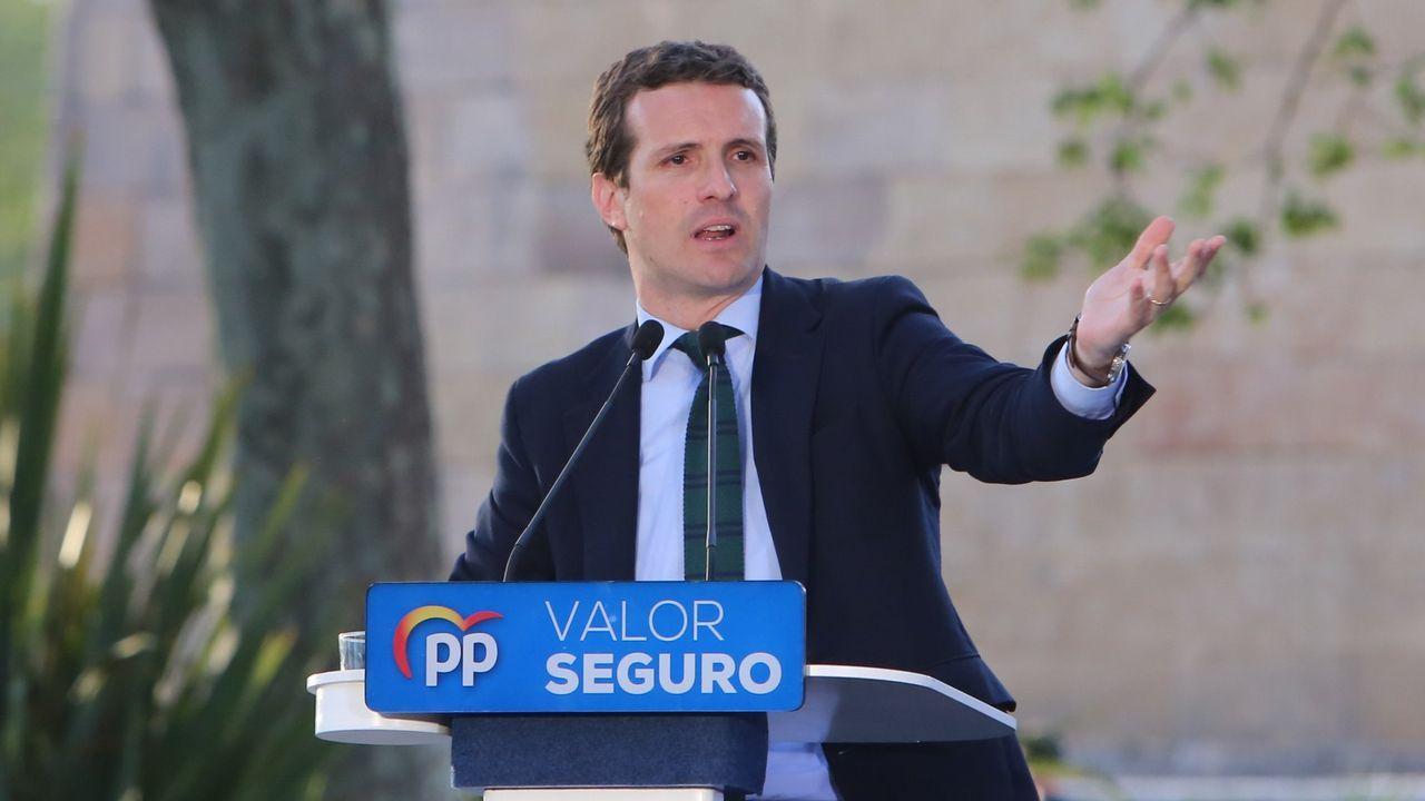 Gonzalo Durán acusa de corrupción a Carmela Silva.Pablo Casado