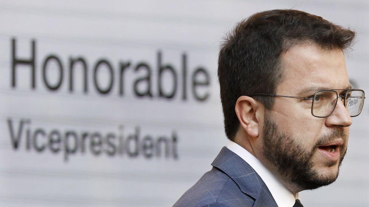 Pere Aragonès, candidato de ERC a la Presidencia de la Generalitat