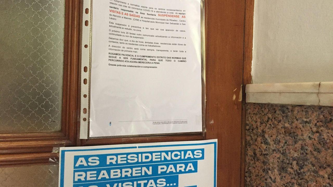 Ya en junio el Concello informara de la prohibición de salidas y visitas en el Hospital Asilo, también para evitar mayores riesgos por el coronavirus