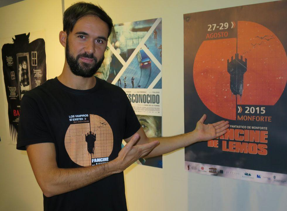 Las fotos de la Gala do Deporte de Monforte 2019.Iván Patiño creó en 2010 la productora de cine independiente Amanita Films.