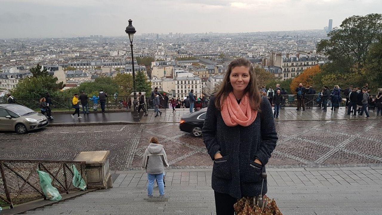 Irene Río trabaja como profesora de español en Saint-Germain-lès-Arpajon