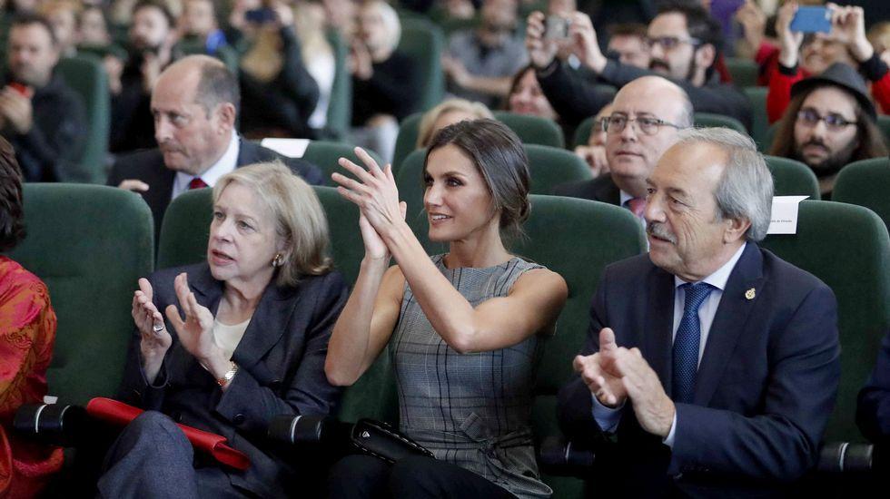 La reina aplaude a Scorsese