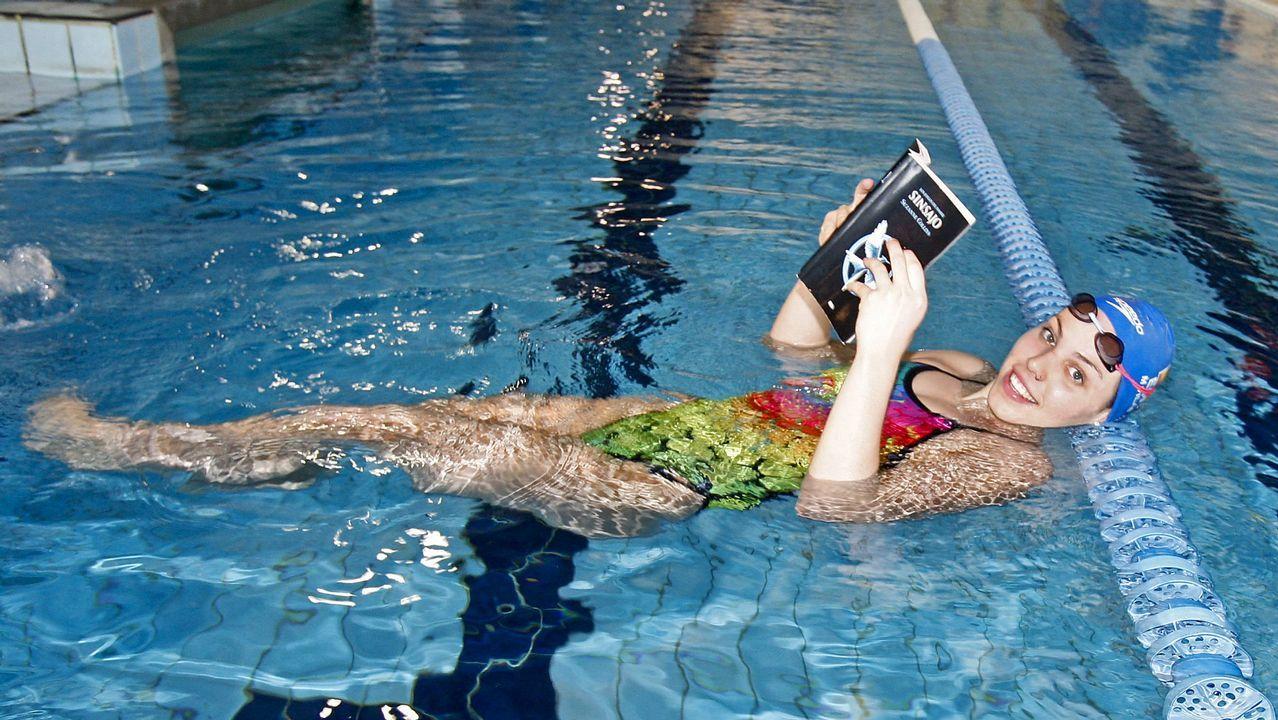 María Vilas. Se alejó de la natación un tiempo tras Río 2016 y ahora intenta recuperar su mejor versión.