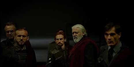 Así funciona la impresora.«Julio César» se presenta en el Auditorio de NCG con actores de la talla de Tristán Ulloa o Mario Gas.
