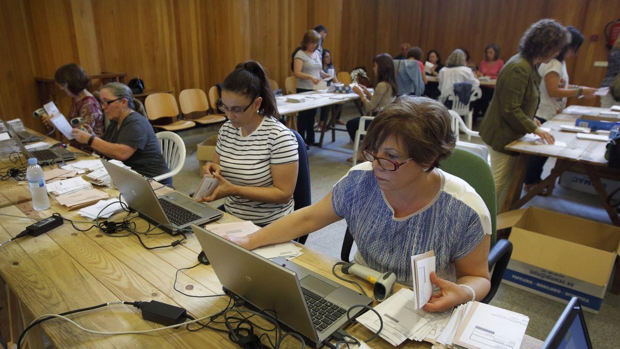 Asturias, de hórreos en hórreo.Recuento de voto exterior en las elecciones autonómicas del 2016