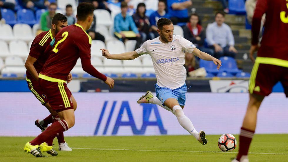 «Quiero un Deportivo valiente y que juegue bien al fútbol».Pedro Mosquera, en Nueva York