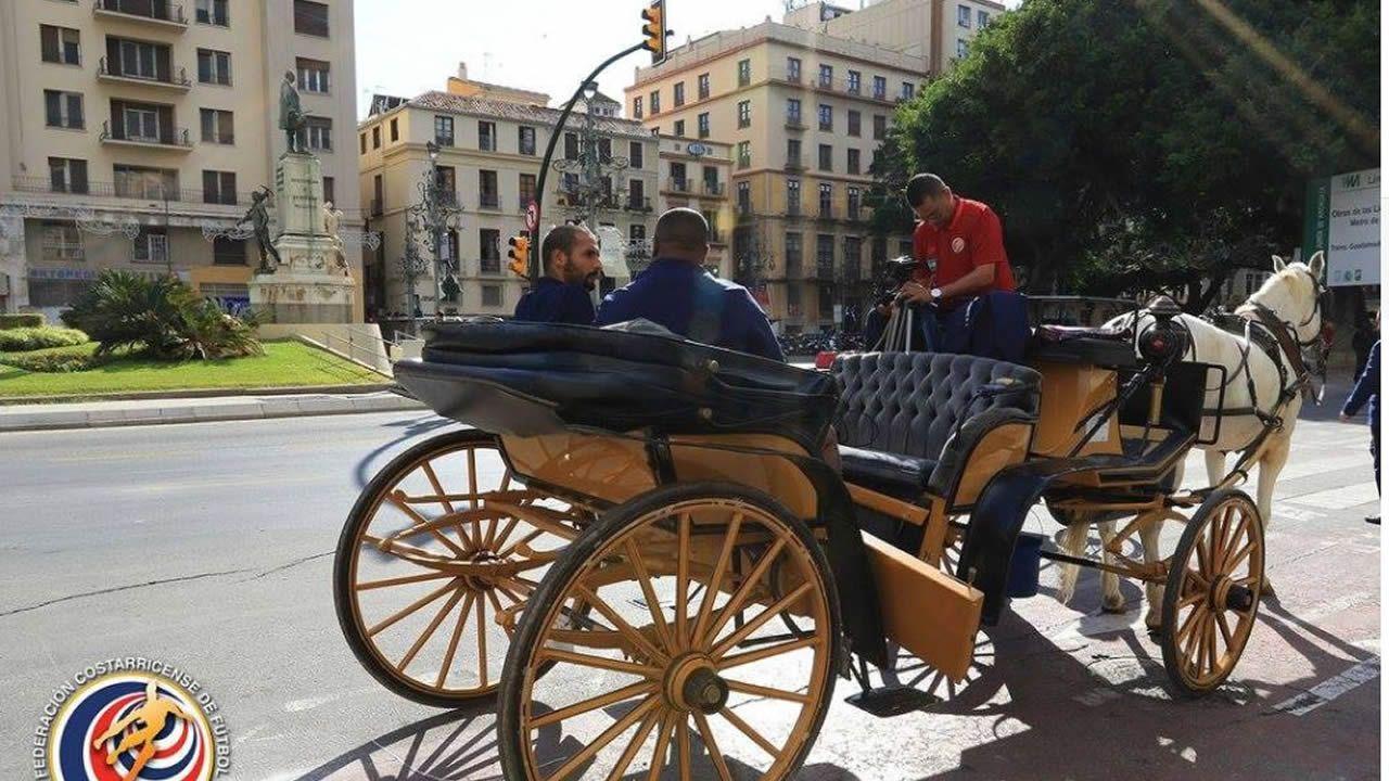 Entrevista realizada a Celso Borges por la federación tica por las calles de Málaga