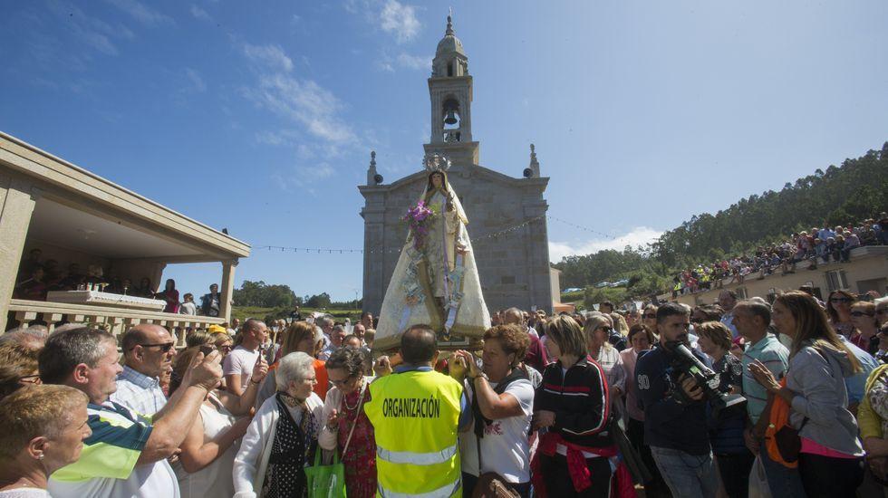 El día grande de la Romaría dos Milagres de Caión, ¡en imágenes!