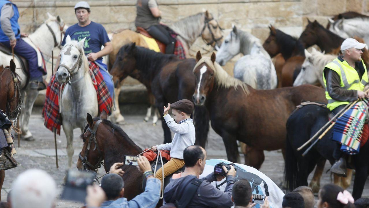 San Lucas. Paso de los caballos por la plaza de la catedral.El historiador Javier Gómez Vila dará una charla sobre la Vía Künig