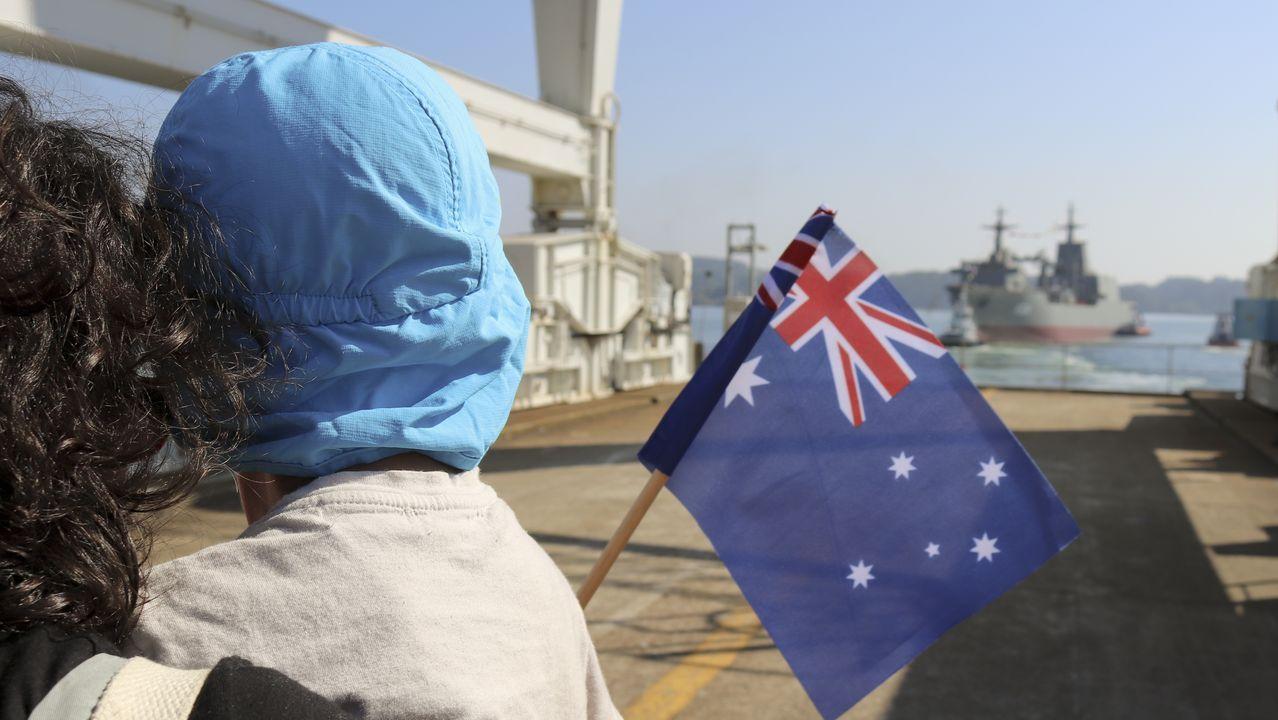 Navantia bota el Stalwart, el segundo buque logístico para la Marinade Australia