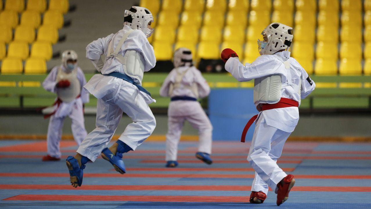 Campeonato de España infantil de Kárate en Os Remedios (Ourense)