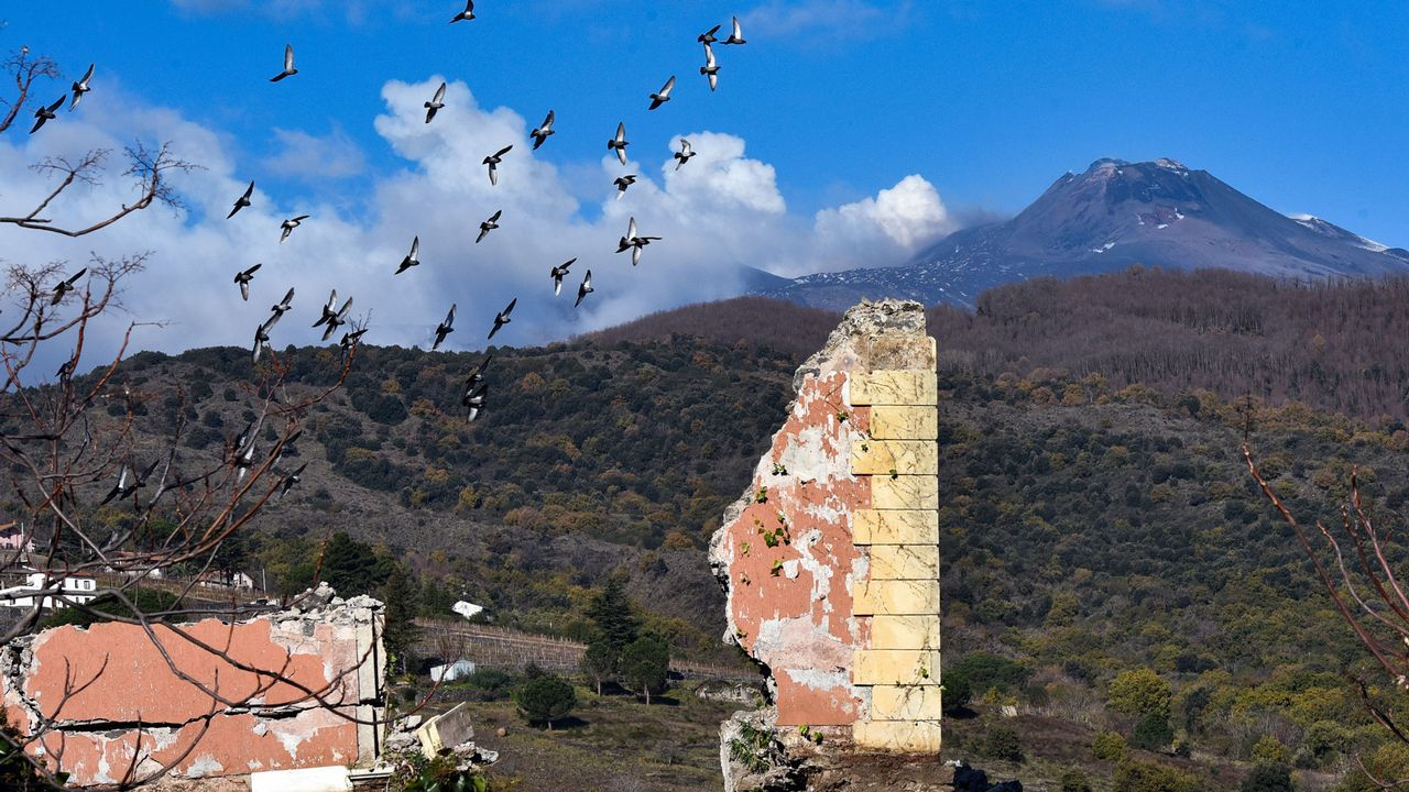 El volcán que despertó los fantasmas del pasado.Sol Romagnoli