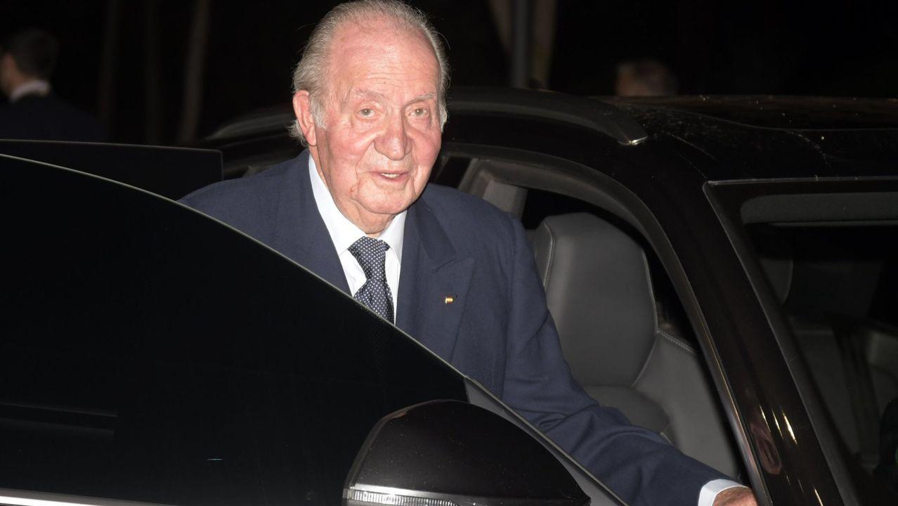 pensiones dignas jubilados.Juan Carlos I, en una imagen de febrero del 2020