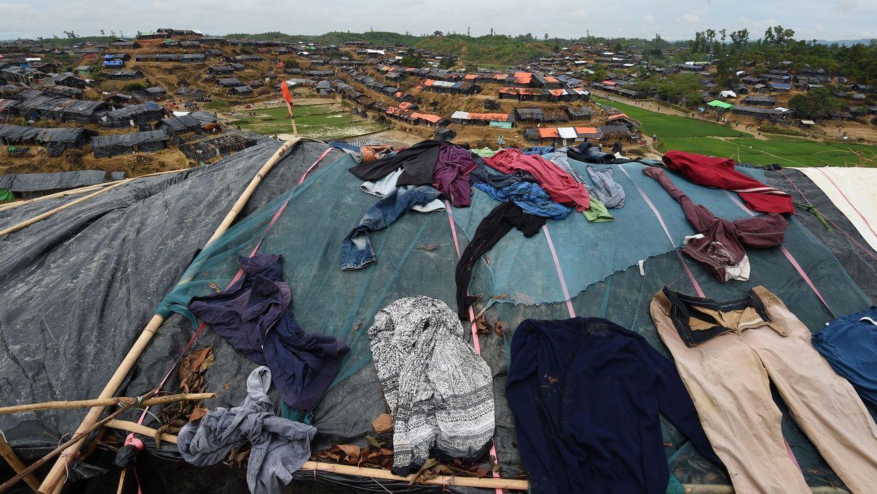Campo de refugiados en Bangladés