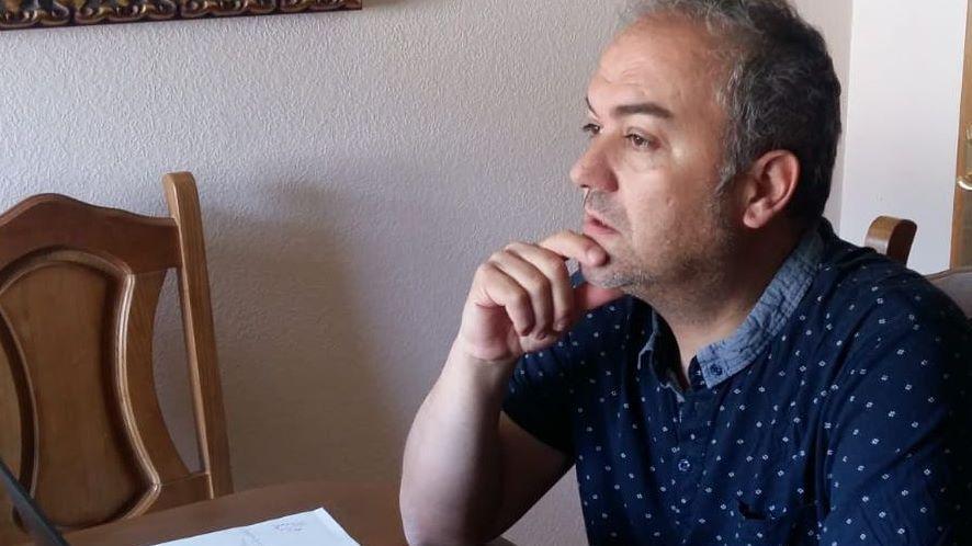 Javier García quiere publicar «Diario de un confinamiento»