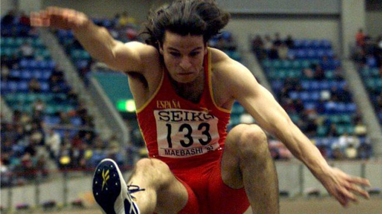 El salto de Yago Lamela que se convirtió en historia del deporte.Salto de Lamela en Maebashi