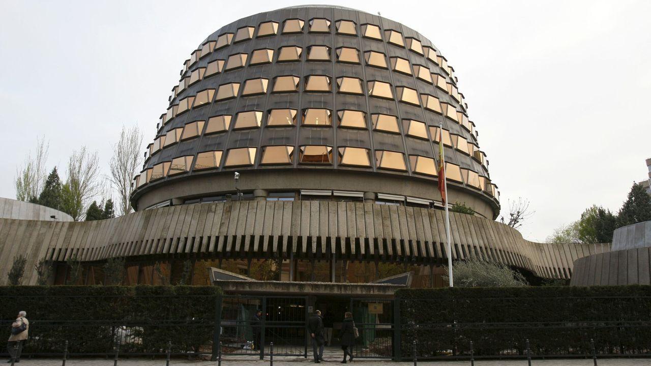Sede del Tribunal Constitucional, en una imagen de archivo