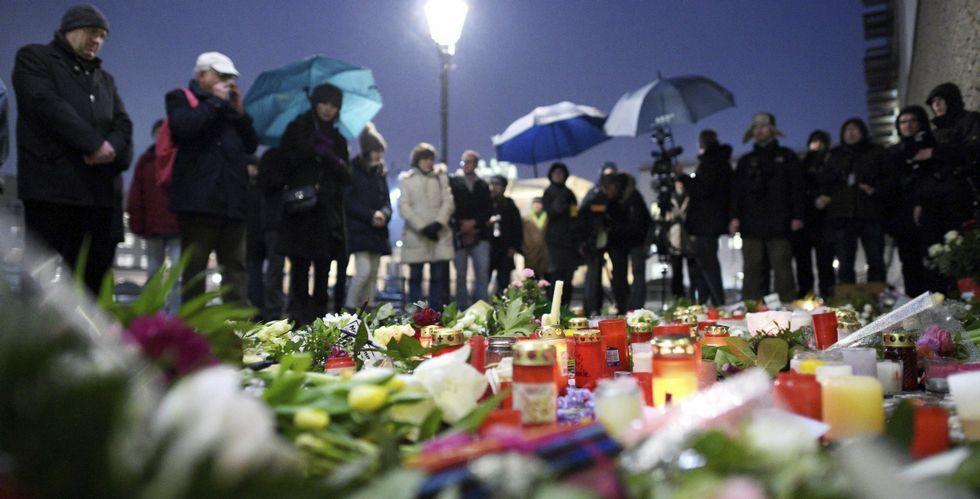 En Berlín, como noutras moitas capitais europeas, os cidadáns participaron en homenaxes aos asasinados en París