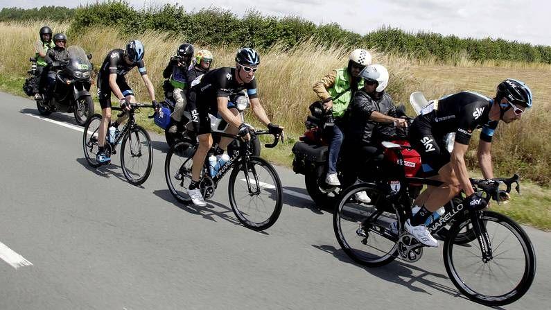 Épica etapa del Tour en Bélgica