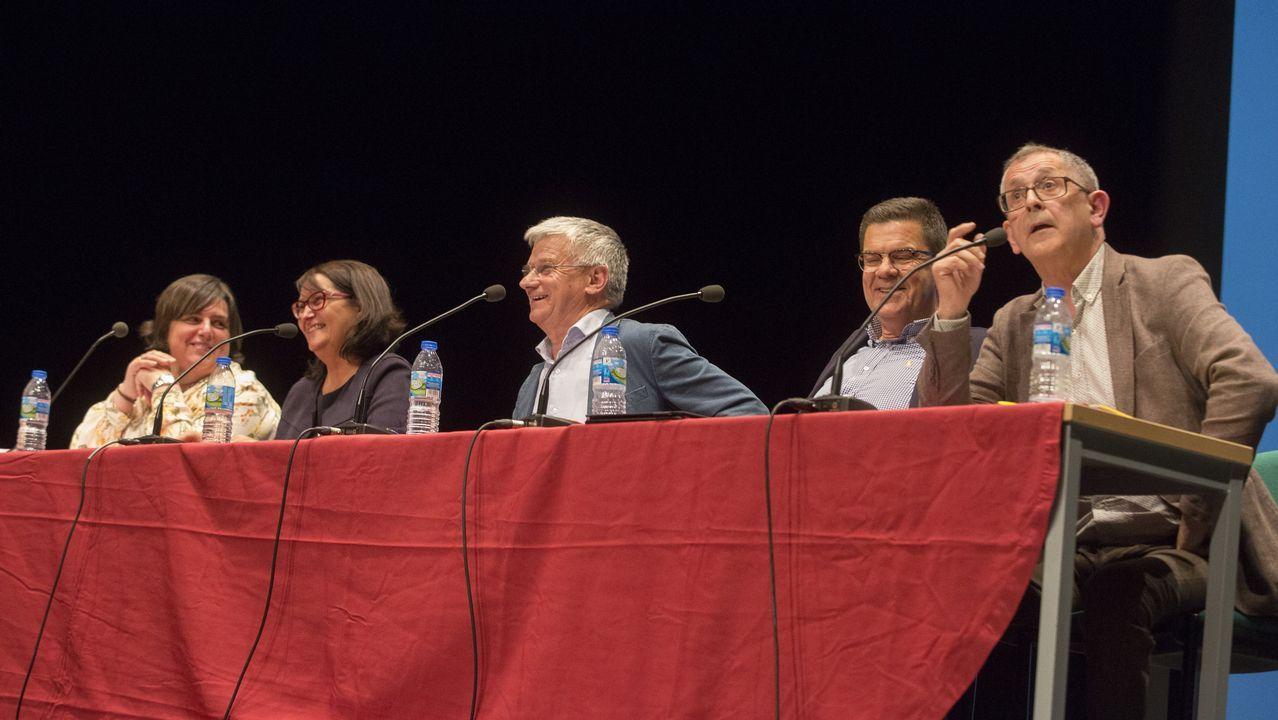 Un debate electoral a cuatro con dosis de esperpento y vítores del público