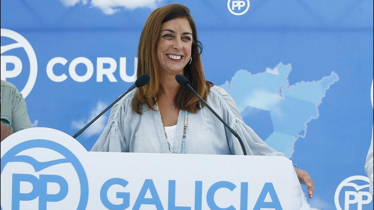 TRISTANA MORALEJO. Número 2 en la lista del PP de A Coruña