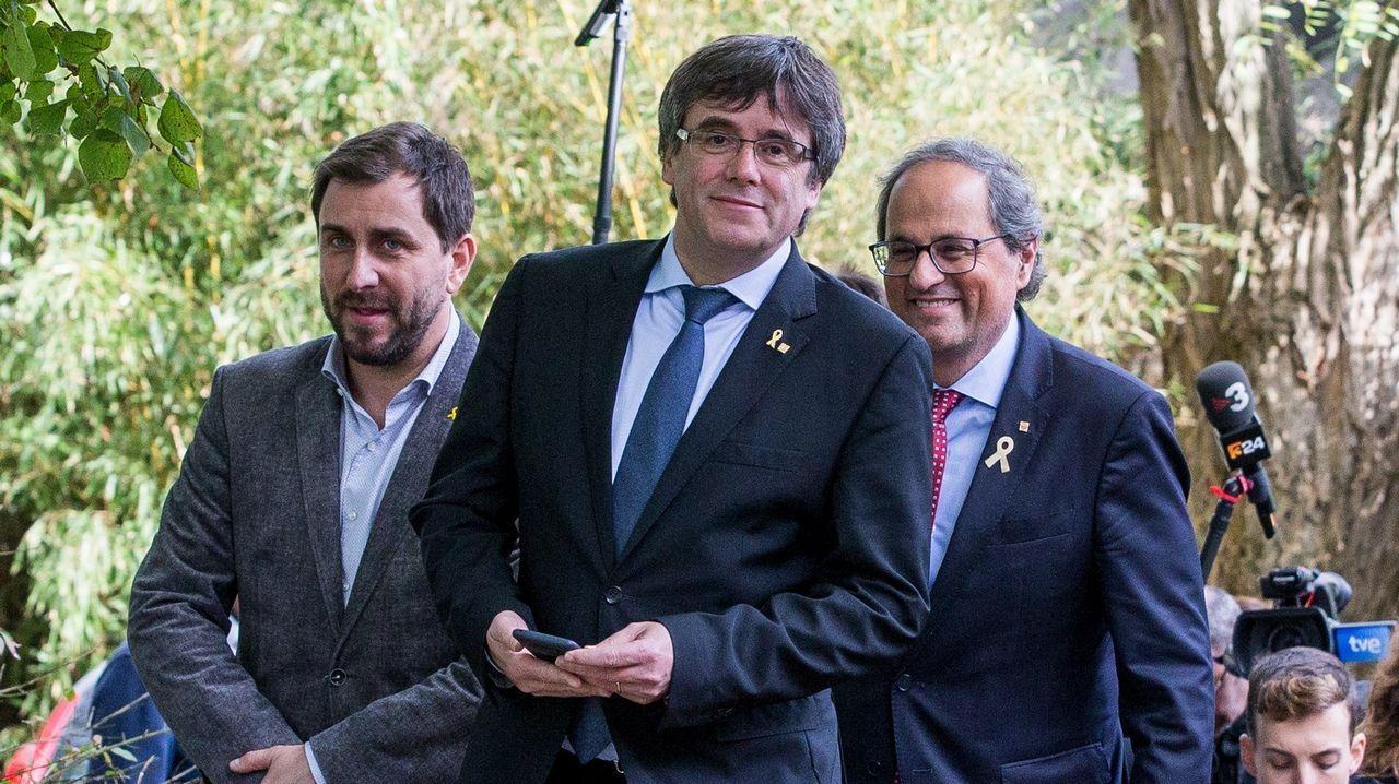 Sito Miñanco declara en la Audiencia Provincial de Pontevedra.Los relojes atrasarán sus manecillas esta noche