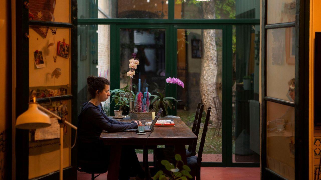 Así es una cuarentena paradisíaca.Andrew Cuomo hizo el anuncio durante un acto en el Día de los Caídos