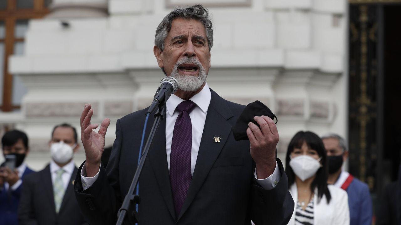 Francisco Sagasti, nuevo presidente de Perú