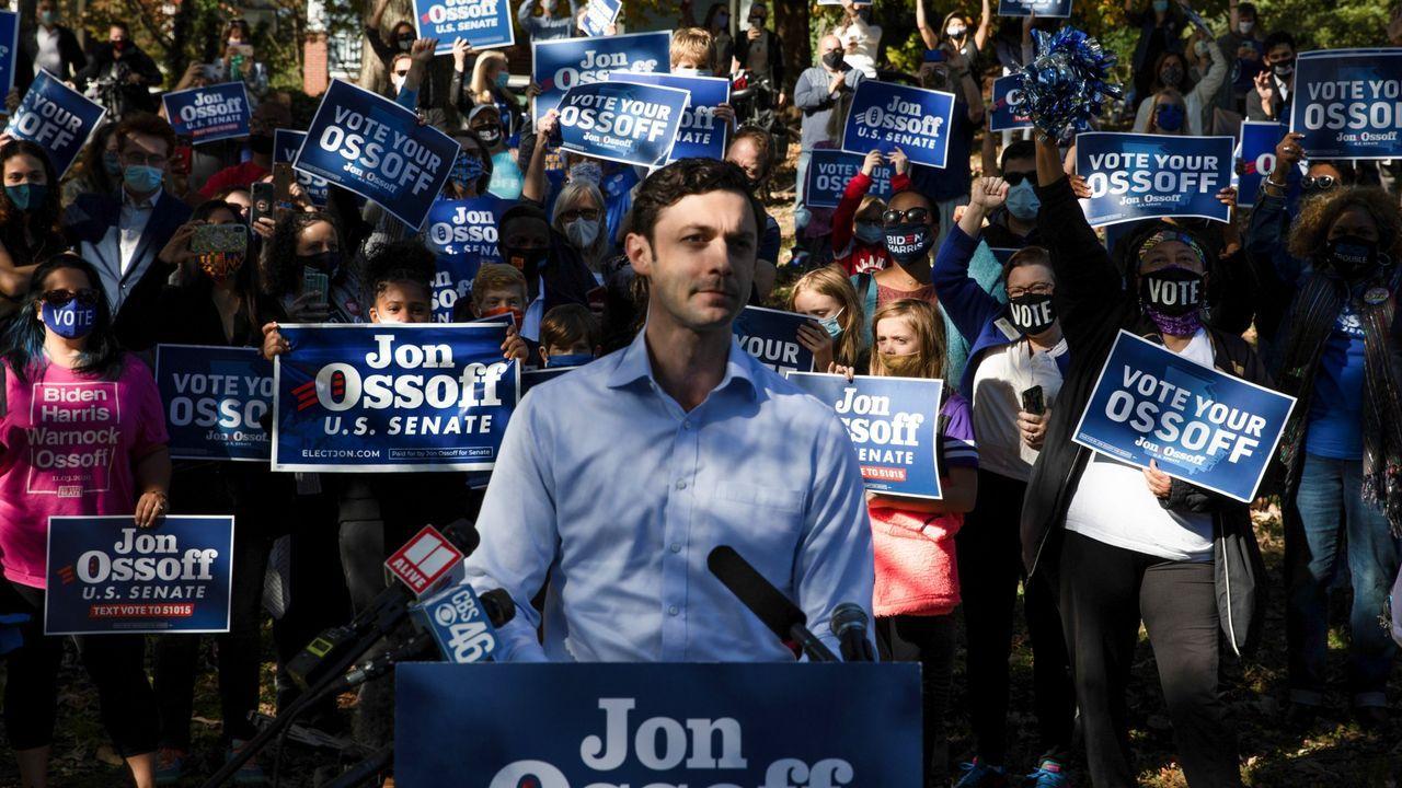 Jon Ossoff, candidato al escaño en liza del Senado por Georgia