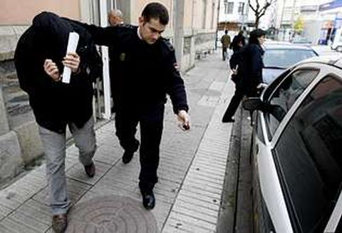 Los imputados volvieron ayer al juzgado de Monforte para continuar las diligencias