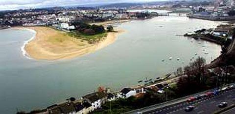 Imagen de la ría de O Burgo, donde se acometerán distintos proyectos, como el de la regeneración