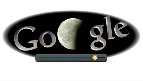 doodle eclipse lunar