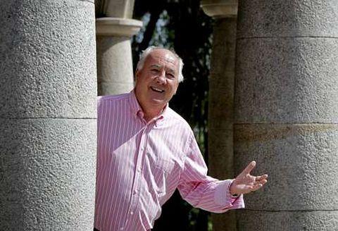 El parque de Santa Margarita, en A Coruña, es uno de los lugares a los que va este jubilado.