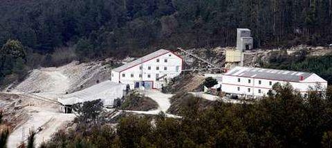 Imagen de archivo de las minas, inactivas durante más de dos décadas y recuperadas por una empresa gallega.