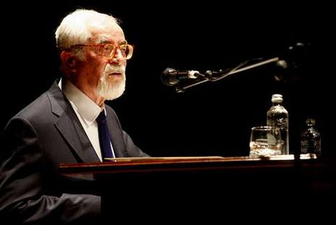 Bernardino Graña, el poeta de Cangas que este sábado recibirá un homenaje en A Coruña.