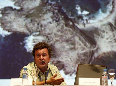 Ángel Concheiro habló sobre el castro de As Barreiras.