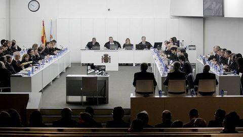 Arranca el juicio del Prestige en A Coruña.