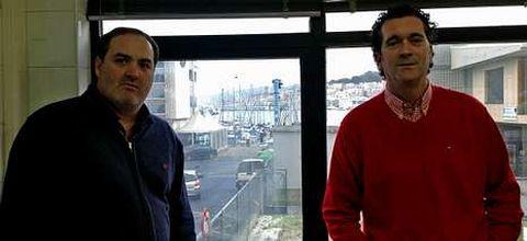 Santiago  Pascual (izq.) y Ángel González coordinan el proyecto.