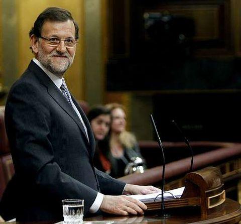Rajoy dijo que gracias a sus medidas España tiene un futuro del que carecía hace un año.