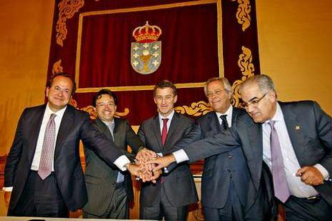 <span lang= es-es >Primeros resultados</span>. El acuerdo sellado en septiembre entre Pemex y los astilleros gallegos ha comenzado a dar frutos.