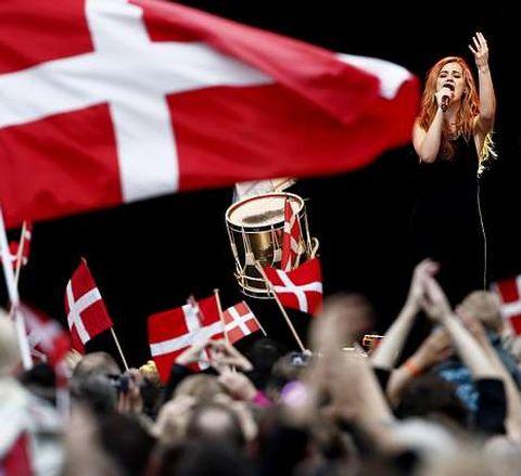 De Forest celebró ayer en Copenhague su victoria.