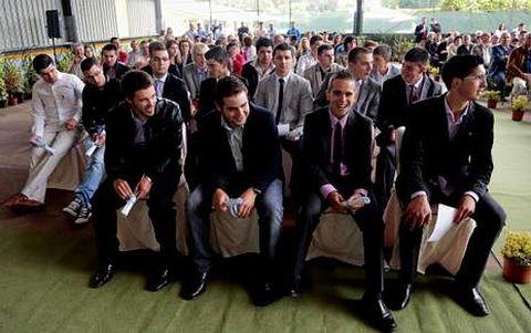 Los cuatro alumnos que hicieron prácticas en Irlanda recibieron sus diplomas.